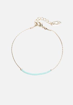 Slinky Beaded Bracelet