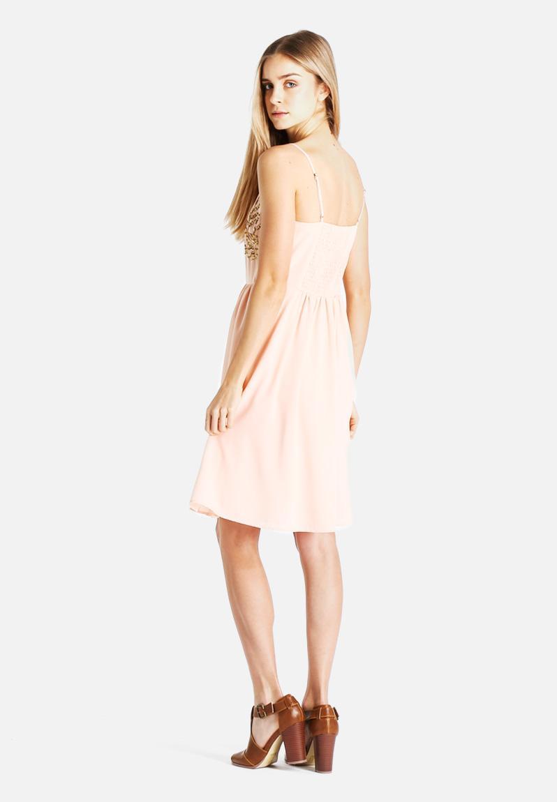 tropical short dress: