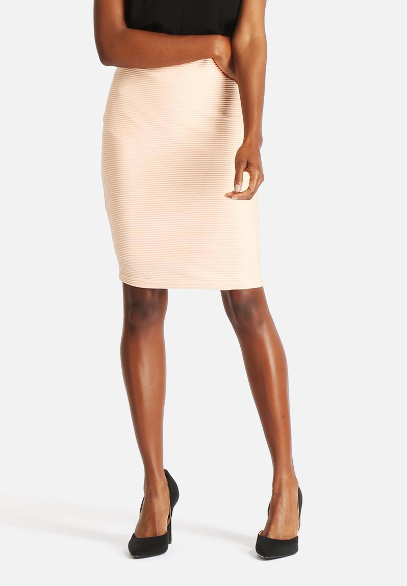 issa hw above knee skirt tropical vero moda skirts