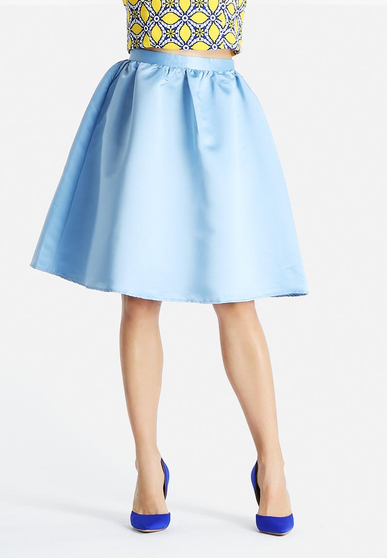 skirt light blue glamorous skirts superbalist