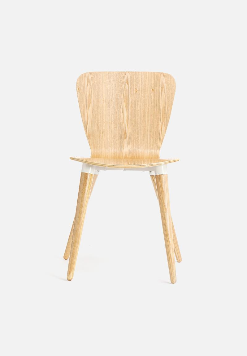 Fjord Chair Brown & White Nomad Home Furniture