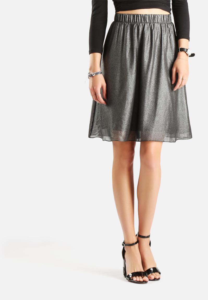 Shiny Swing Skirt Black Vero Moda Skirts Superbalist Com