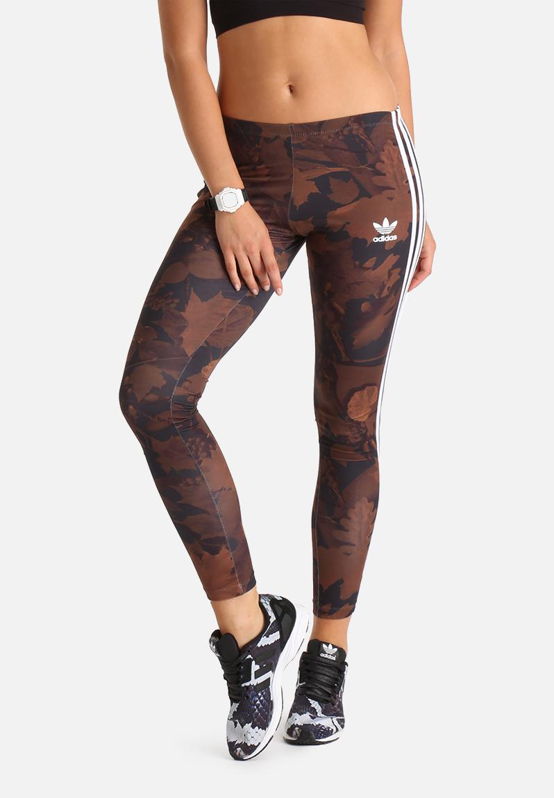 Leaf Camo Leggings Adidas Originals Pants Superbalist Com