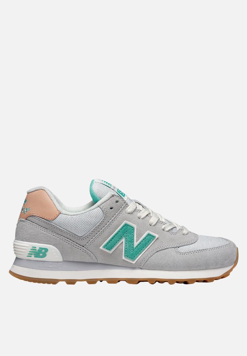 New Balance WL574BCB  Grey QuotBeach Cruiserquot New Balance Sneakers