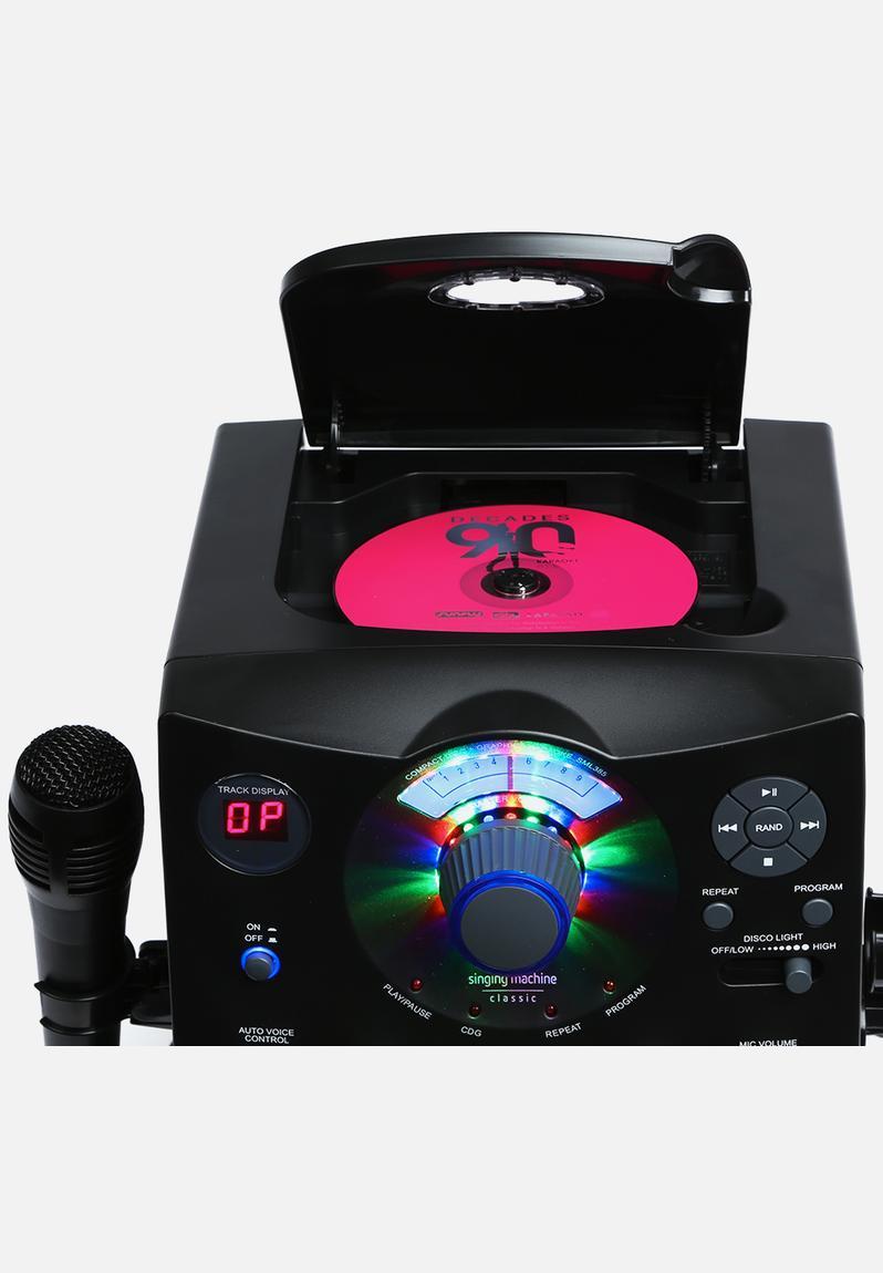 karaoke machine plugs into tv
