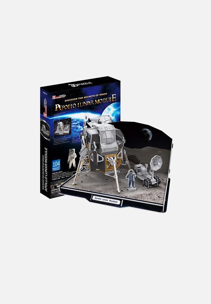 Apollo Lunar Module 104pcs 3d Puzzle Cubicfun Games