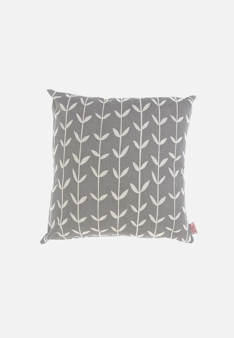 Solid Orla Cushion Cover Fog Skinny La Minx Scatter