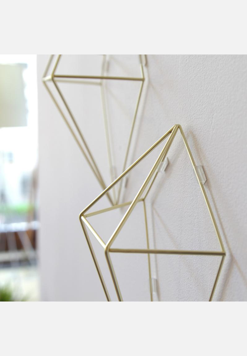 Umbra Pluff Wall Decor Set Of 9 : Prisma wall d?cor gold umbra decor superbalist